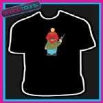 CARTOON FONE HACKER FUNNY PHONE MAN TSHIRT